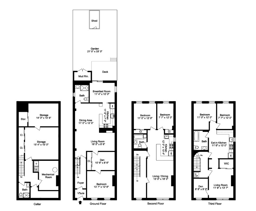 The floor plan – Gowanus Renovation